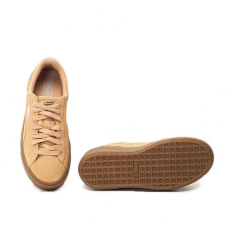 Puma Pantofi sport Suede Platform Animal de piele intoarsa, cu garnitura cu aspect piele de sarpe2