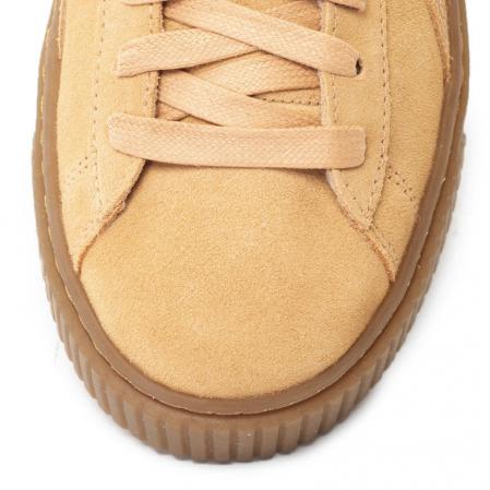 Puma Pantofi sport Suede Platform Animal de piele intoarsa, cu garnitura cu aspect piele de sarpe4