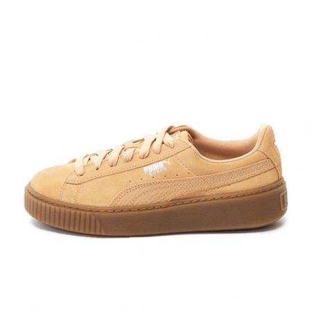 Puma Pantofi sport Suede Platform Animal de piele intoarsa, cu garnitura cu aspect piele de sarpe0