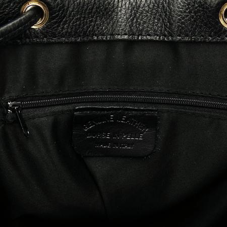 Rucsac negru din piele naturala Victoria3
