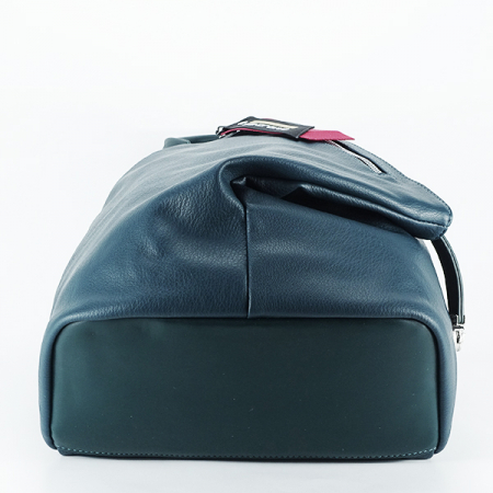 Rucsac verde inchis casual Cindy [5]