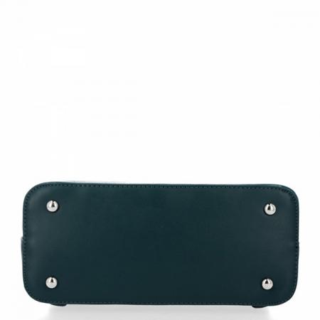 Rucsac verde inchis cu imprimeu reptila Carolina [4]
