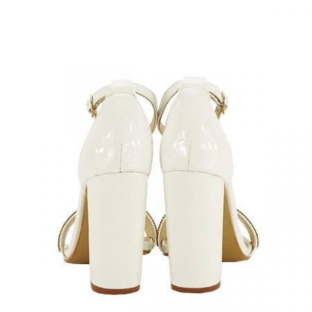 Sandale albe Diana [5]