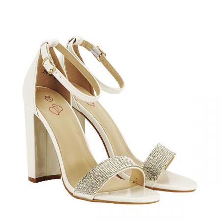 Sandale albe Diana [3]