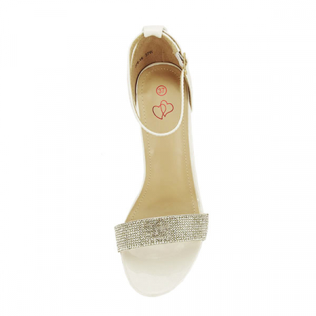 Sandale albe Diana [2]
