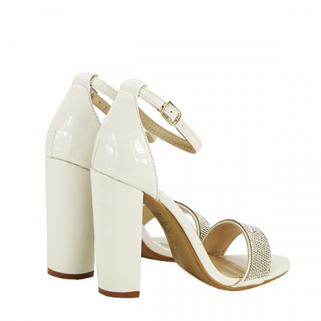 Sandale albe Diana [4]
