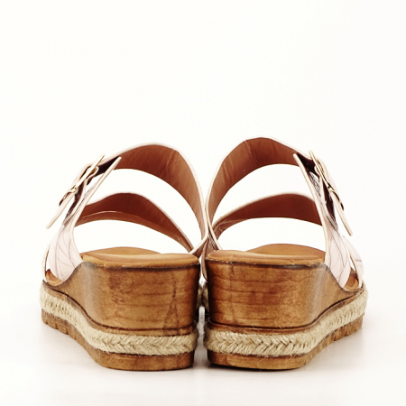 Sandale bej cu platforma Florida [4]