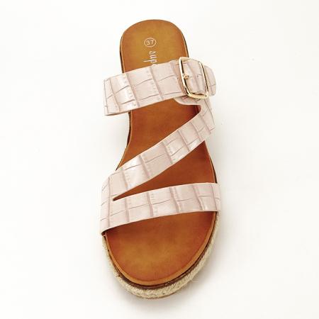 Sandale bej cu platforma Florida [6]