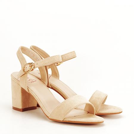 Sandale bej Daria [2]