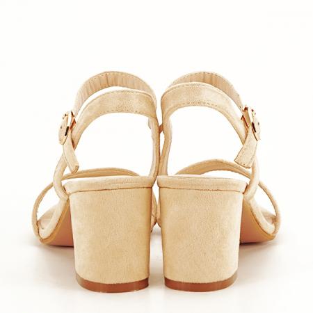 Sandale bej Daria [5]