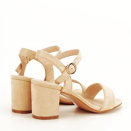 Sandale bej Daria [4]