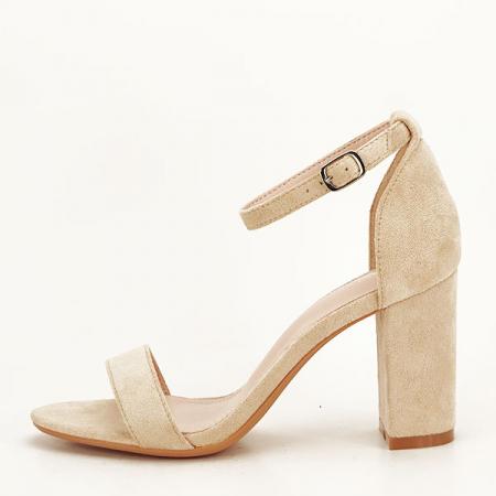 Sandale bej elegante Sabina [1]