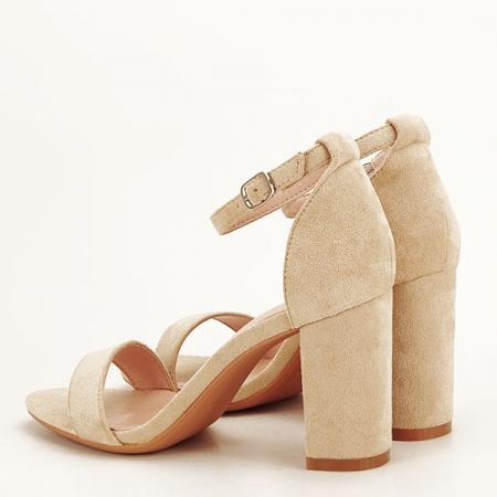 Sandale bej elegante Sabina [3]