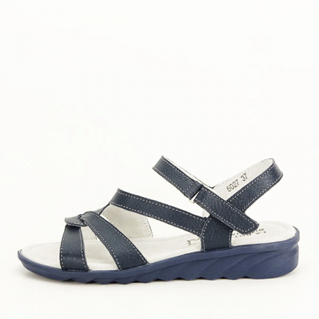 Sandale bleumarin din piele naturala Suzana [1]
