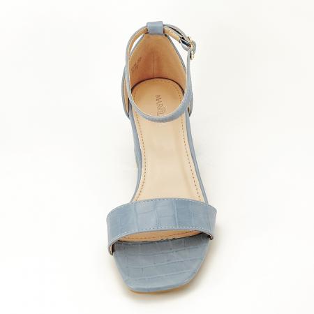 Sandale blue cu toc gros Bella3