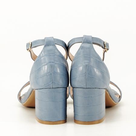 Sandale blue cu toc gros Bella7