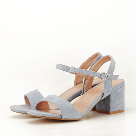 Sandale blue cu toc mic Vanesa [1]