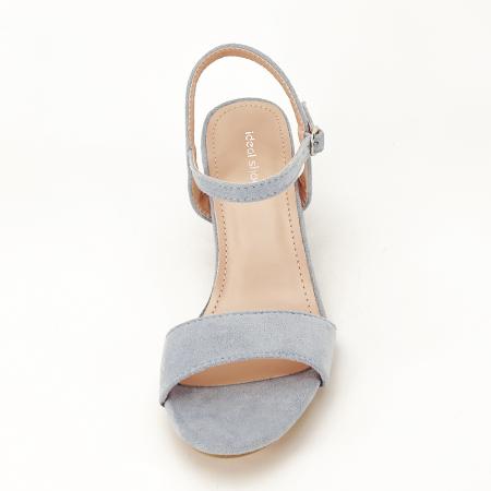 Sandale blue cu toc mic Vanesa [3]