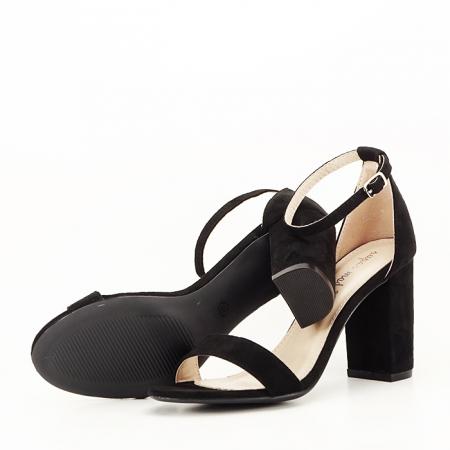 Sandale negre cu toc inalt Flavia [7]