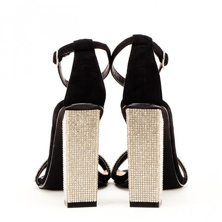 Sandale negre Agness6
