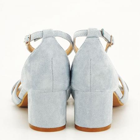 Sandale elegante albastre Lidia [5]