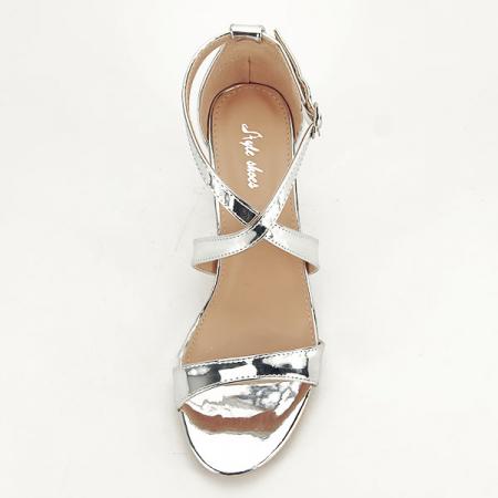 Sandale elegante argintii Bella [1]
