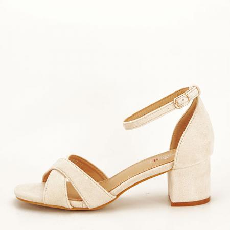 Sandale elegante bej Lidia [0]