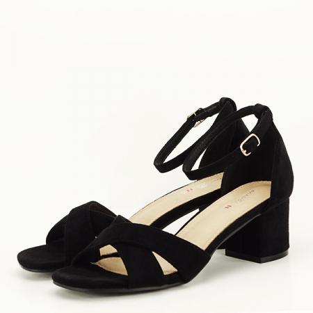 Sandale elegante negre Lidia [1]