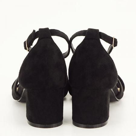 Sandale elegante negre Lidia [5]