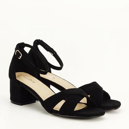 Sandale elegante negre Lidia [2]