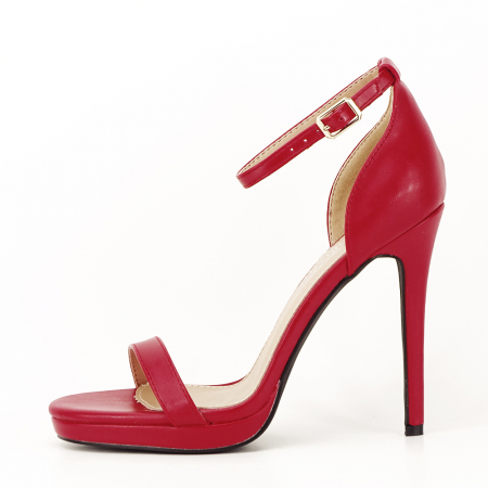 Sandale elegante rosii Dorothy [0]