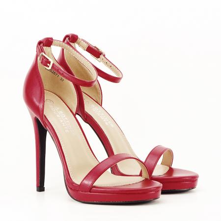 Sandale elegante rosii Dorothy [5]