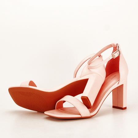 Sandale elegante roz piersica Judy [7]