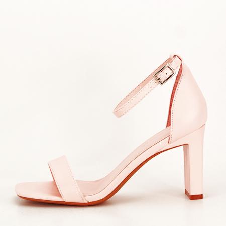 Sandale elegante roz piersica Judy [1]