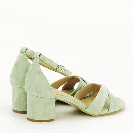 Sandale elegante verzi Lidia [4]