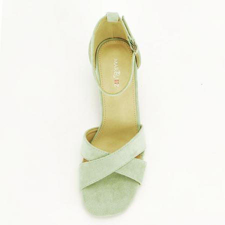 Sandale elegante verzi Lidia [6]