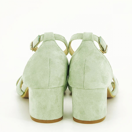 Sandale elegante verzi Lidia [5]