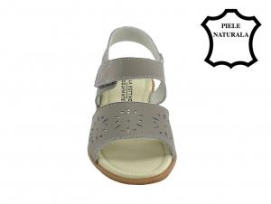 Sandale gri din piele naturala Catis3