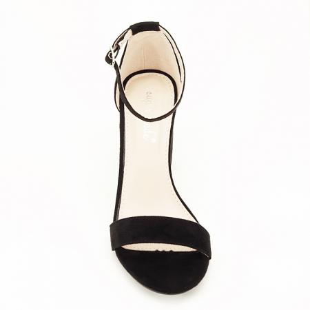 Sandale negre cu toc inalt Flavia [3]