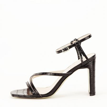 Sandale negre cu toc Jessie [2]