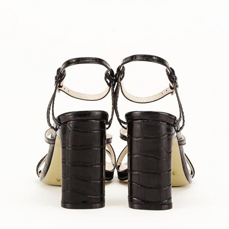 Sandale negre cu toc Jessie [5]