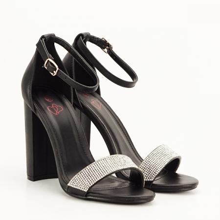Sandale negre Diana [2]