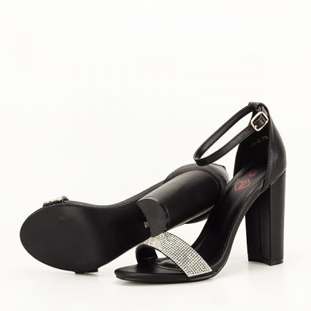 Sandale negre Diana [7]
