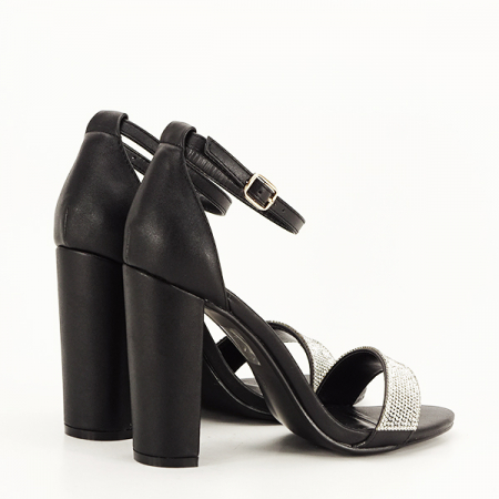 Sandale negre Diana [4]