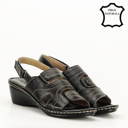 Sandale din piele naturala Geta [5]