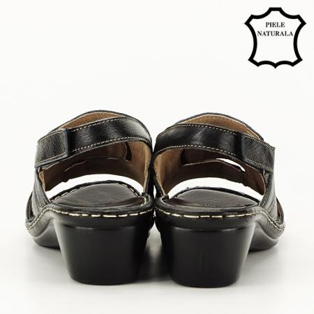 Sandale din piele naturala Geta [4]