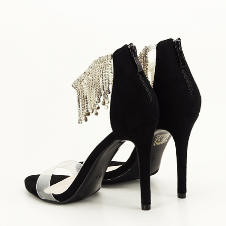 Sandale negre elegante Ioana [4]