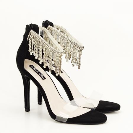 Sandale negre elegante Ioana [3]