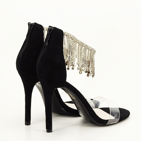 Sandale negre elegante Ioana [5]