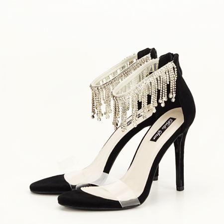 Sandale negre elegante Ioana [2]